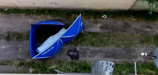 Znaleziono ciało z roztrzaskaną głową