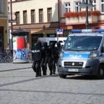 W czasie awantury domowej, zaatakował policjanta