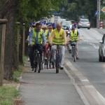 Ścieżka rowerowa na Limanowskiego – jeżdżą pod prąd