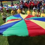 Przedszkolaki rywalizowały na sportowo