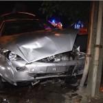 Strzelecka/Ledóchowskiego – wypadek Forda i Renault (wideo)