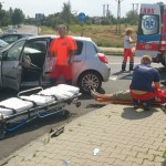 Wypadek Kamienna-Sadowa – Peugeot vs. Renault (wideo)