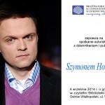 Szymon Hołownia będzie gościem biblioteki