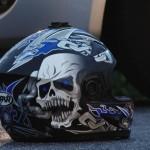 Motocyklista nieprzytomny – wypadek przy policji