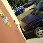 60-latek zasłabł za kierownicą. Uszkodził 4 auta