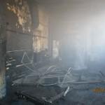 Pożar lakierni w Odolanowie. Straty 100 tys. zł