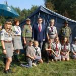 Namiot dla harcerzy