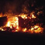 Pożar stodoły w Bogufałowie