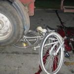 Zmiażdżona noga rowerzysty – aktualizacja