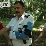 Napadł na policjanta z nożem – ma zarzuty