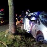 3 osoby ranne – wypadek koło Odolanowa (aktualizacja)
