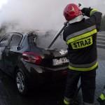 Pożar auta, pożar mieszkania
