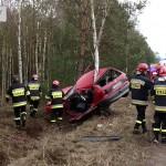Cudem przeżyła – wypadek w Chynowej