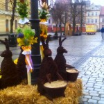 Ostrowski Rynek przystrojony na Kiermasz