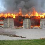 Pół miliona strat po pożarze w Odolanowie