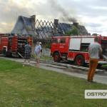 Pożar w Strzyżewie. Spłonęły 4 mieszkania