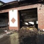 Spłonął warsztat samochodowy w Topoli Małej (foto)