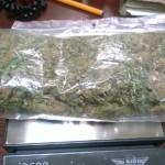 Wpadł diler marihuany