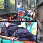 Dwa potrącenia przez ciężarówki – Warszty i k. wiaduktu krotoszyńskiego