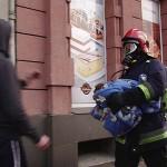 Pożar kamienicy na Raszkowskiej. Są poszkodowani!