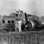 Bezzałogowe lądowanie bombowca w Łąkocinach