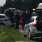Policjanci postrzelili napastnika z siekierą