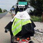 Niepełnosprawny jadący przez całą Polskę, był w Ostrowie