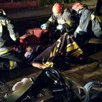Żniwna: dwoje motocyklistów rannych