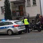 Zdarzenie na Grabowskiej z motocyklistą