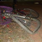 Potrącenie rowerzystki przy Starej Przepompowni