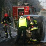 Auto płonęło 3 razy