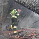 Podsumowanie akcji po pożarze kamienicy w Odolanowie