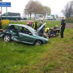 Wypadek śmiertelny na trasie Ostrów-Kalisz. Zginął kierowca Peugeota