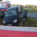 Zginął 26-letni motocyklista na obwodnicy Ostrowa (aktualizacja)