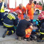 Wypadek motocyklisty. (aktualizacja)