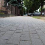 Piastowska z nowymi chodnikami