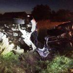 Poważny wypadek w Mazurach. Bus z osobówką
