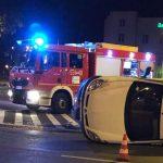 Wypadek na rondzie przy Placu Bankowym