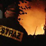 Spłonęła stodoła w Smardowie