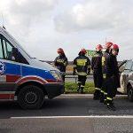 3 osoby ranne. Wypadek ciężarowki i Citroena przy Galerii Ostrovia
