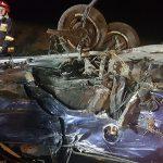Wypadek w Górznie.  7 podróżujących, w tym 2 dzieci