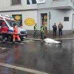 Śmieciarka śmiertelnie potrąciła kobietę