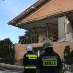Wybuch gazu w Wielowsi. Wyleciały ściany w budynku