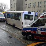 Wypadek dwóch autobusów w centrum Ostrowa. Są ranni