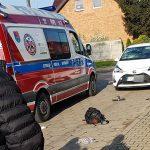 Uczeń jadący do szkoły na hulajnodze został potrącony