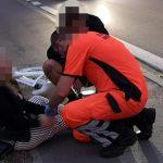 Zderzenie 3 rowerzystów na Limanowskiego