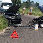 Wypadek w Będzieszynie. Interweniował LPR