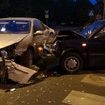 Zderzenie Citroena i Volkswagena na Ledóchowskiego