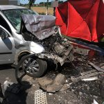 Śmiertelny wypadek w Sobótce. Zjechał wprost pod TIR-a