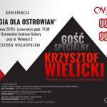 """""""Energia dla Ostrowian"""" z Krzysztofem Wielickim"""